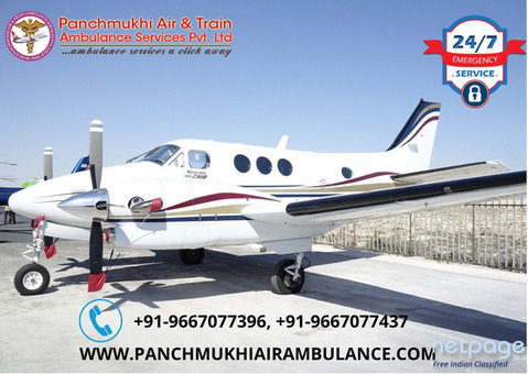 Avail Air Ambulance in Silchar with Ultimate Healthcare Solution
