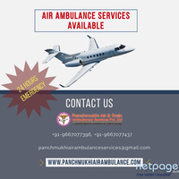 Receive Air Ambulance in Varanasi without Any Disturbance